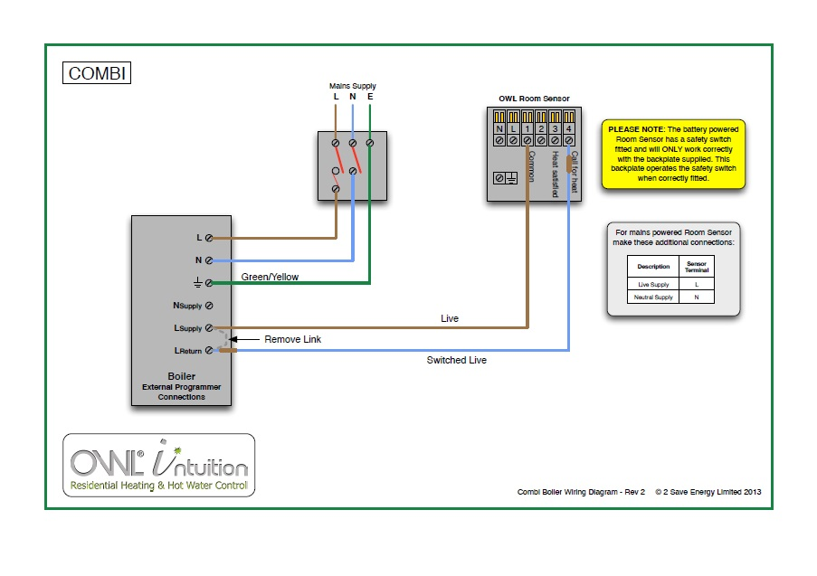 heating controls intuition h the owl heating control wiring diagrams